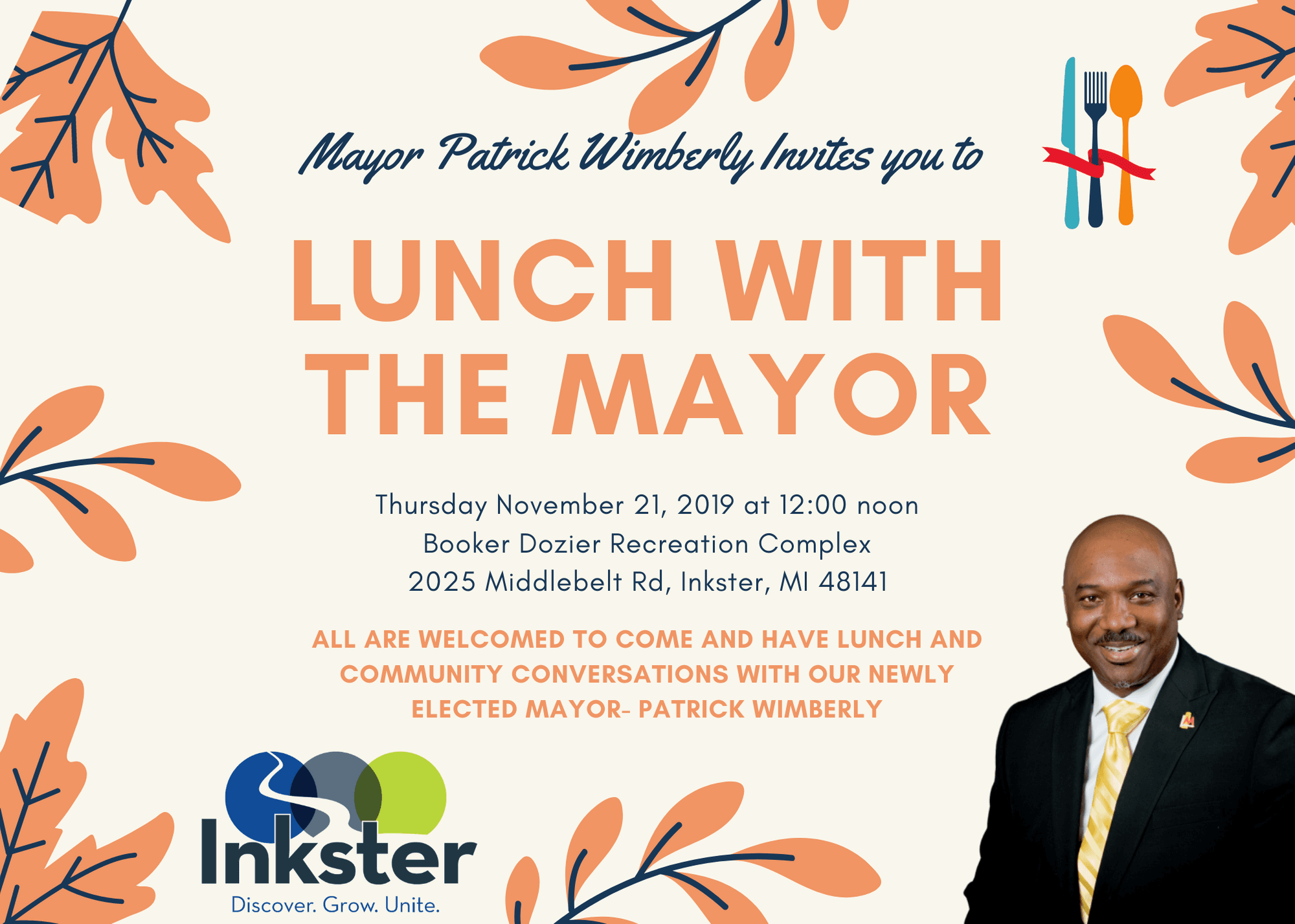 November Lunch With the Mayor