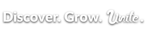 Banner Discover Grow Unite