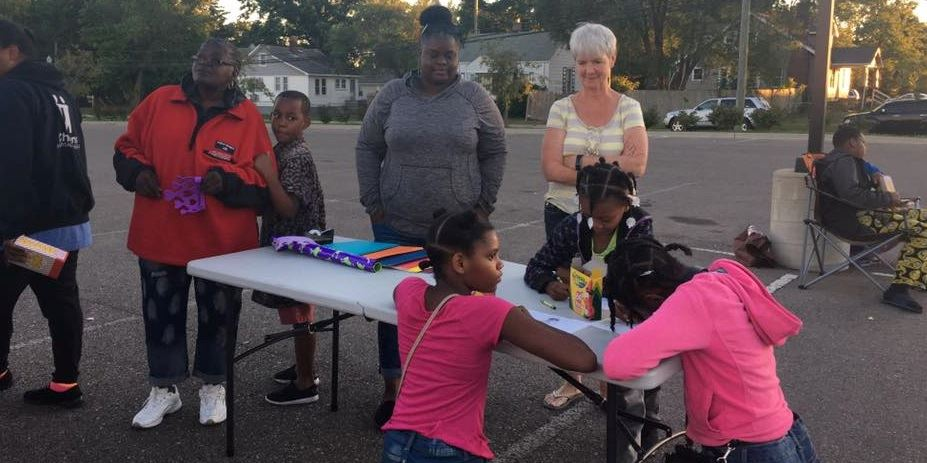 Inkster PD Movie Night July 2017